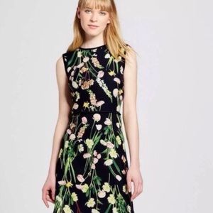 Victoria Beckham for Target Dress Floral Sheath